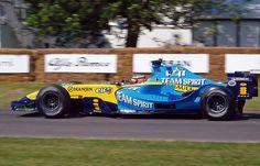 Fernando Alonso su Renault R25 2005