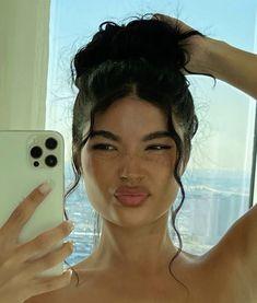 Beauty Makeup, Hair Makeup, Hair Beauty, Hair Inspo, Hair Inspiration, Aesthetic Hair, Pretty Face, Hair Looks, Pretty People