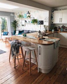 Kitchen decor kitchen diner extension, updated kitchen, quirky kitchen, o. Kitchen Diner Extension, Open Plan Kitchen, Updated Kitchen, New Kitchen, Kitchen Decor, Quirky Kitchen, Kitchen Cupboard, Kitchen Ideas, Cocina Office