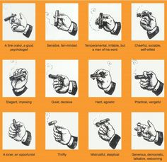 What the way you hold your cigar says about you...