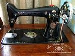 cleaning old sewing machines