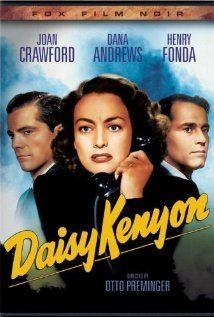 Daisy Kenyon (1947) Commercial artist Daisy Kenyon is involved with married lawyer Dan O'Mara, and hopes someday to marry him, if he ever divorces his wife Lucille. She meets returning veteran Peter, a decent and caring man, whom she does not love, but who offers her love and a more hopeful relationship. She marries him... just as Dan gets a divorce.