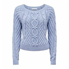 Cleo Cable Sweater Buy Dresses, Tops, Pants, Denim, Handbags, Shoes and Accessories Online #ghdpastelcollection #ghd #goodhairday