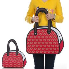 Patterned 2D Purse