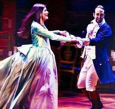 """Look into your eyes, and the sky's the limit"" - Hamilton on Broadway Cast Of Hamilton, Hamilton Broadway, Hamilton Musical, Theatre Nerds, Musical Theatre, Theater, Broadway Theatre, Pippa Soo, Eliza Schuyler"