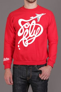Cloud Kicker So Fly Crewneck Sweatshirt