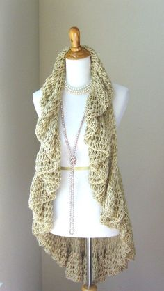 Crochet Scarf or Vest — Crafthubs