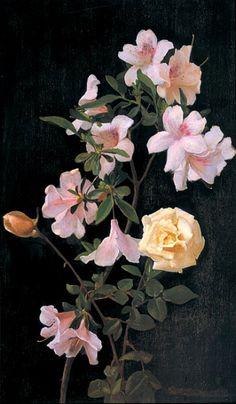 George Cochran Lambdin | stilllifequickheart george cochran lambdin spring blossoms 1875