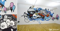 wall illustration office - Google Search