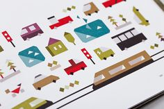Infographics and illustrations / The Outpost on Behance