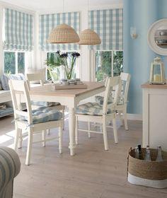 Cuadros vichy en tu salón, en tu cocina y en Telas de Luna. Sé creativo con todas estas telas tan bonitas!