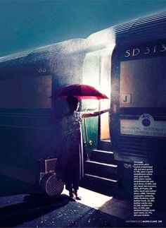 Leah de Wavrin photographed by Max Cardelli for Marie Claire UK November 2012