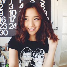 If I ever go with short hair, I would hope it turns out like Jenn Im's of Clothes Encounters.