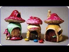 ❣DIY Miniature Mushroom Fairy House Jars❣ - YouTube