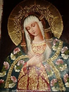 Oh rose most pure and good, full of grace, have pity on us and intercede for us. Mother Pictures, Jesus Pictures, Art Pictures, Religious Images, Religious Icons, Religious Art, Blessed Mother Mary, Blessed Virgin Mary, Hail Holy Queen