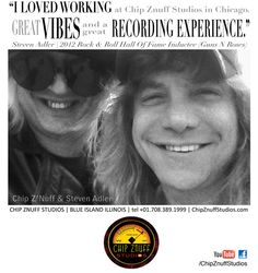 Steven Adler of Guns N Roses gives Chip Znuff Studios a plug. Congrats on Steven's recent induction (with his fellow Gunners) to the Rock & Roll Hall Of Fame.