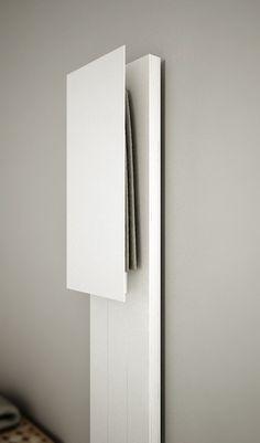 Towel Warmer, Coat Stands, Corian, Decoration, House Plans, Wall Lights, Interior Design, Bathroom, Houses