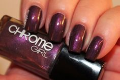 Chrome Girl ~ color: Soul Sister.