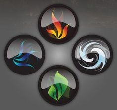 4 Elements Wind, Water, Earth, and Fire 4 Elements, Classical Elements, Elements Of Nature, Earth Air Fire Water, Earth Wind & Fire, Yin Yang, Magia Elemental, Fantasy Art, Creations