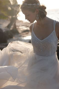 Elsa Gown in Bride Wedding Dresses at BHLDN