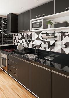 How To Incorporate Contemporary Style Kitchen Designs In Your Home Kitchen Room Design, Kitchen Cabinet Design, Home Decor Kitchen, Interior Design Kitchen, Kitchen Furniture, Home Kitchens, Kitchen Ideas, Kitchen Layout, Kitchen Modular