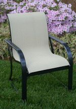 Chair Care Patio Furniture Repair can make replacement slings for