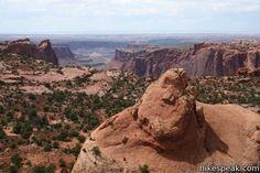 Whale Rock Hike- Canyonlands