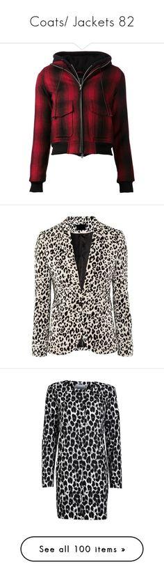 """Coats/ Jackets 82"" by singlemom ❤ liked on Polyvore featuring outerwear, jackets, tops, coats, kirna zabete, off duty, red tartan jacket, plaid bomber jacket, red plaid jacket and flight jacket"