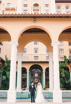 The Biltmore Hotel in Miami is luxurious and filled with Spanish architecture   Brides.com