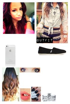 """Hanging Out With Sasha Banks"" by caton-486 ❤ liked on Polyvore featuring BERRICLE, Charlotte Tilbury and TOMS"