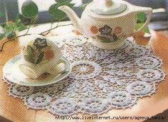 Crochet Doily/Tablemat/Placemat/Rug. Обсуждение на LiveInternet - Российский Сервис Онлайн-Дневников