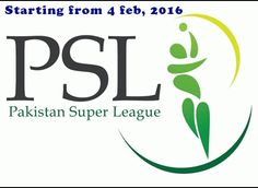 Pakistan Super League finally has got his feet after the wait for five long years. The tournament has to commence on 4 February 2016, in which stars from different countries are participating to blast the league to new heights. PSL is franchised based T-20 tournament like IPL, SLPL and BPL .it is organized by PCB