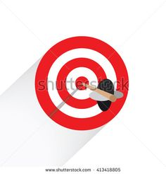 Target Icon For Website and Business   - stock vector