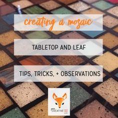 The Mosaic Table Project - Zorra Creative Fox Studio