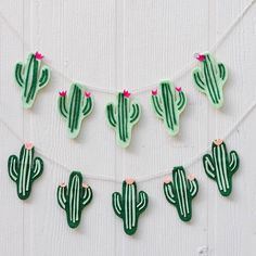 These felt cactus banners are perfect for any occasion and any day. [Online now]…
