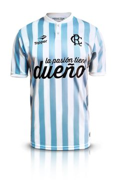 "Camiseta ""Espíritu Amateur"" de Racing Club. Image Foot, Club, Football Shirts, Racing, Academia, Grande, Retro, Football Images, Soccer Jerseys"