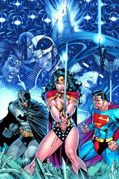 """DC """"Infinite Crisis"""" by Jim Lee Giclee on Fine Art Paper - The Incredible Art Gallery"""