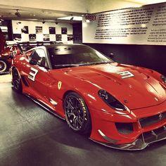 Epic Ferrari 599XX