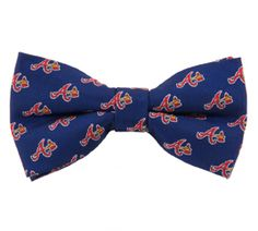 Braves Bow Tie Repeat Tie