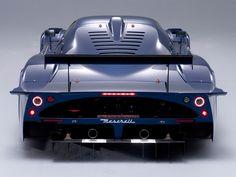 Maserati MC-12 rear