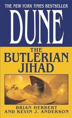 DUNE: THE BUTLERIAN JIHAD by Brian Herbert - http://www.amazon.com/gp/product/B000FA5TPG/ref=cm_sw_r_pi_alp_gf43qb1FYZMP5