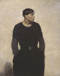 """Glyn Warren Philpot, Artist: """" A Young Breton"""" 1917"""