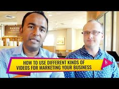 Video marketing seems intimidating for many people, but making videos is easier than you think. In this video, Evan and I are talking about what kinds of vid. Marketing Software, Seo Marketing, Digital Marketing Strategy, Mobile Marketing, Content Marketing, Internet Marketing, Social Media Marketing, Beauty Tips For Hair, Beauty Makeup Tips
