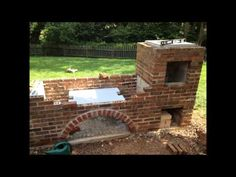 Argentine Grill & Brick BBQ Smoker Time Lapse - YouTube