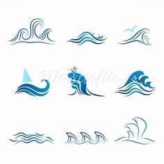 small water tattoos - Google Search