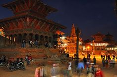 """Patan Durbar Square at Nepal is my favorite place.  As I posted below,I made up Special Album """"Collaboration with BOSS"""".  This album containts photos taken at same shooting point different time by me.  Please enjoy my Special photos and Yuko Azuma 's great work.  Yuko Azuma (her nickname is BOSS) 's photo is available from below URL.  13 TOP Google+ Photos for November 12.  http://www.photoextract.com/plus-extract/2011/11/12"""