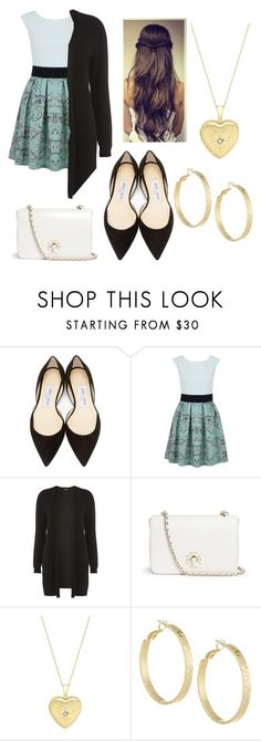 """Autumn Rose- The Visit"" by sandyy-tran ❤ liked on Polyvore featuring Jimmy Choo, Closet, Dorothy Perkins, Tory Burch, John Lewis and Panacea"
