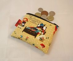 Little Red Riding Hood Fabric Coin Purse - Free P&P £5.00