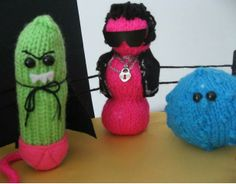 Fierce knitted microbes