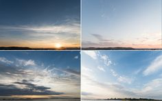Sunset Skies 01 Vol. 01 brings 16 photographs of cloudy sunset skies.  Check out the previews to find out what photos are included.  All photos are taken with Full Frame Nikon D810 + Sigma 20mm f/1,4 DG HSM Art.  All photos include horizon for better positioning.  Resolution of photos: 36MPix; mostly 7360 x 4912 pix (some might be slightly cropped).
